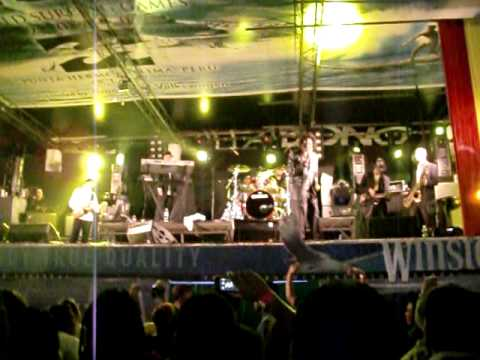 Don Carlos en Lima Sunsplash 18/03/2011 - Army Band + Thinking About You (vocal)