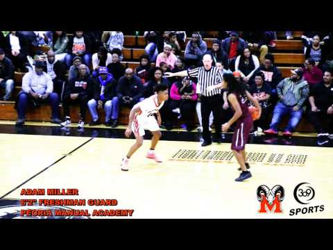 "[ 309 Sports ] Peoria Manual 6'2"" Freshman PG Adam Miller (2020)"