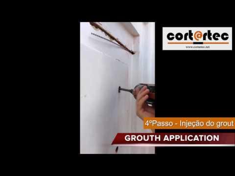Aplicação de ancoragens em paredes duplas | Application of anchors in double walls