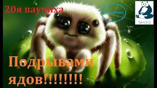Raid: SL.  20я паучиха пройдена ВЗРЫВОМ ЯДОВ авто!!! 20lvl Spider Queen was OWNED by poison blast!!!