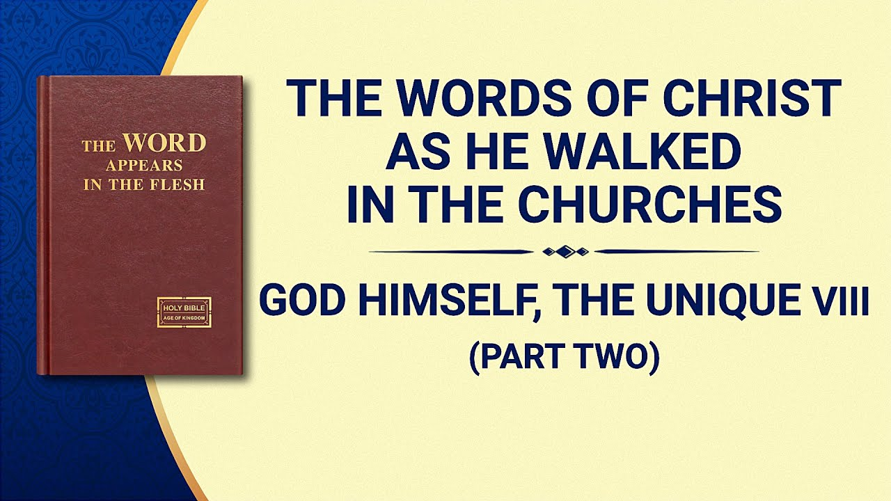 "The Word of God | ""God Himself, the Unique VIII: God Is the Source of Life for All Things (II)"" (Part Two)"