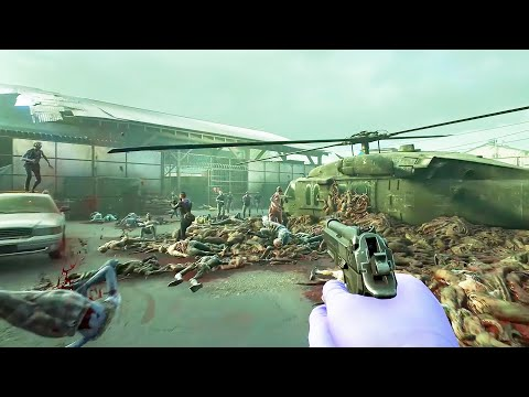 SURVIVE THE END OF THE WORLD - Battling MASSIVE Zombie Apocalypse Hordes in the NEW Back 4 Blood