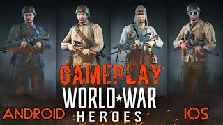 World War Heroes: WW2 FPS Android/IOS Gameplay/Review & Walkthrough[Droid Nation]