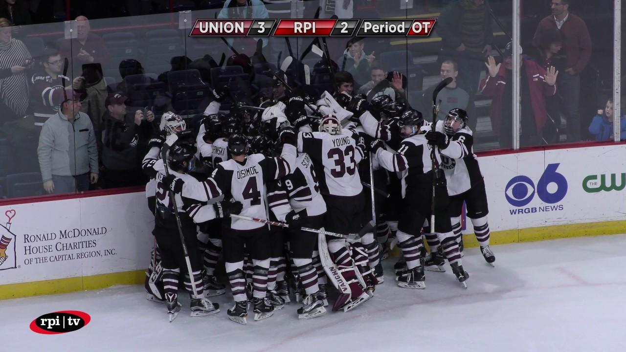 Union vs. RPI Men's Hockey Mayor's Cup - 1/19/17 ...
