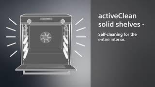Siemens activeClean solid shelves