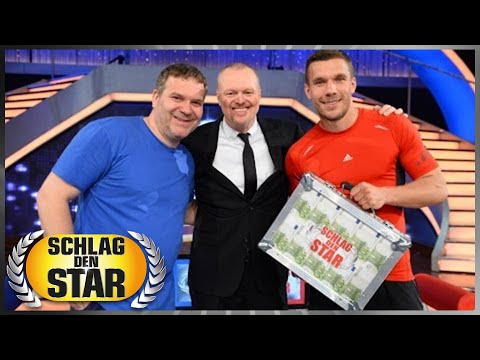 Die Highlights: Elton vs. Lukas Podolski - Schlag den Star