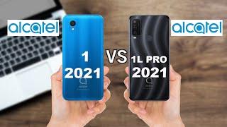 ALCATEL 1 2021 VS ALCATEL 1L PRO 2021 Full comparison.