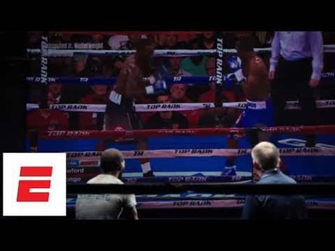 Terence Crawford Breaks Down Film From Victory Over Julius Indongo | ESPN