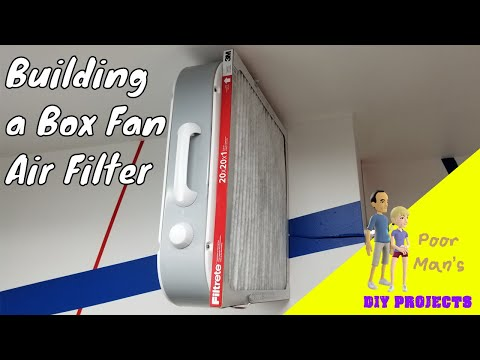 Poor Man's DIY: Easily Made, Effective Air Filter System For Wood Working