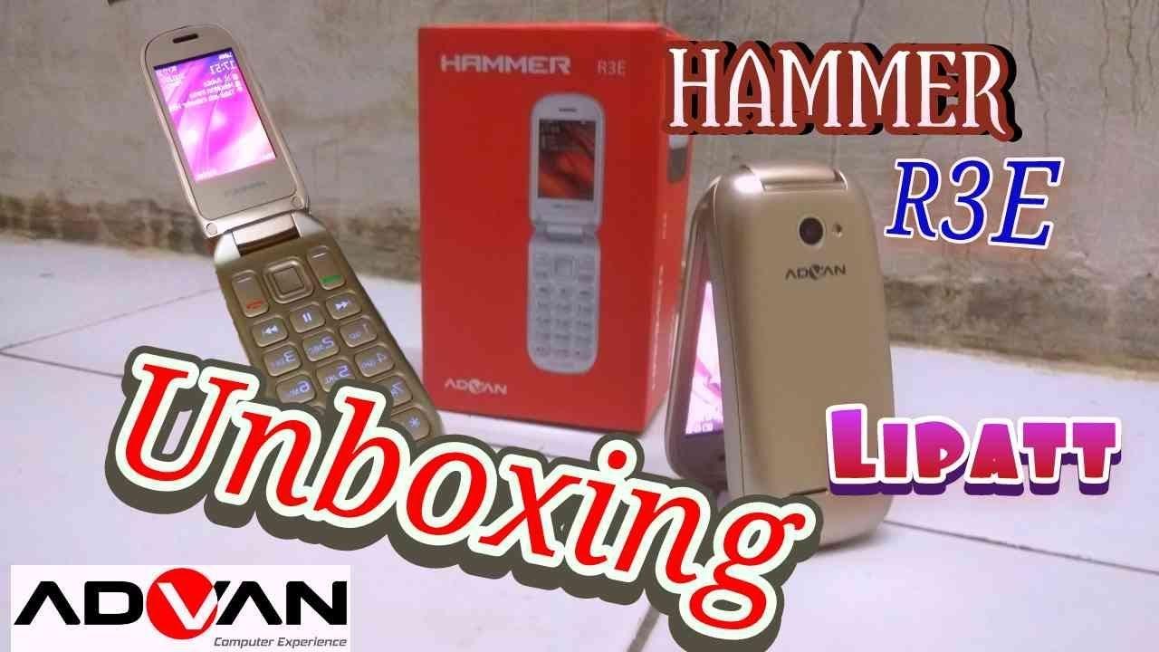 Unboxing Advan Hammer Youtube Alcatel 2051d Flip Dual Sim Garansi Resmi