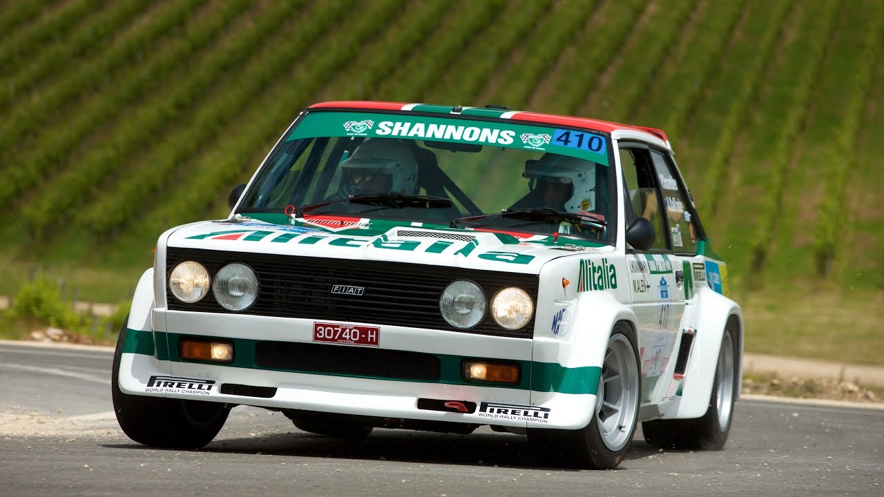 Fiat 131 Abarth at Classic Adelaide