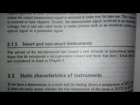Smart and non smart instruments