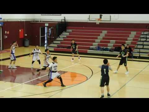 SF Elite vs Taisho - 8th Grade Boys - 2017 Betsuin Basketball Tournament