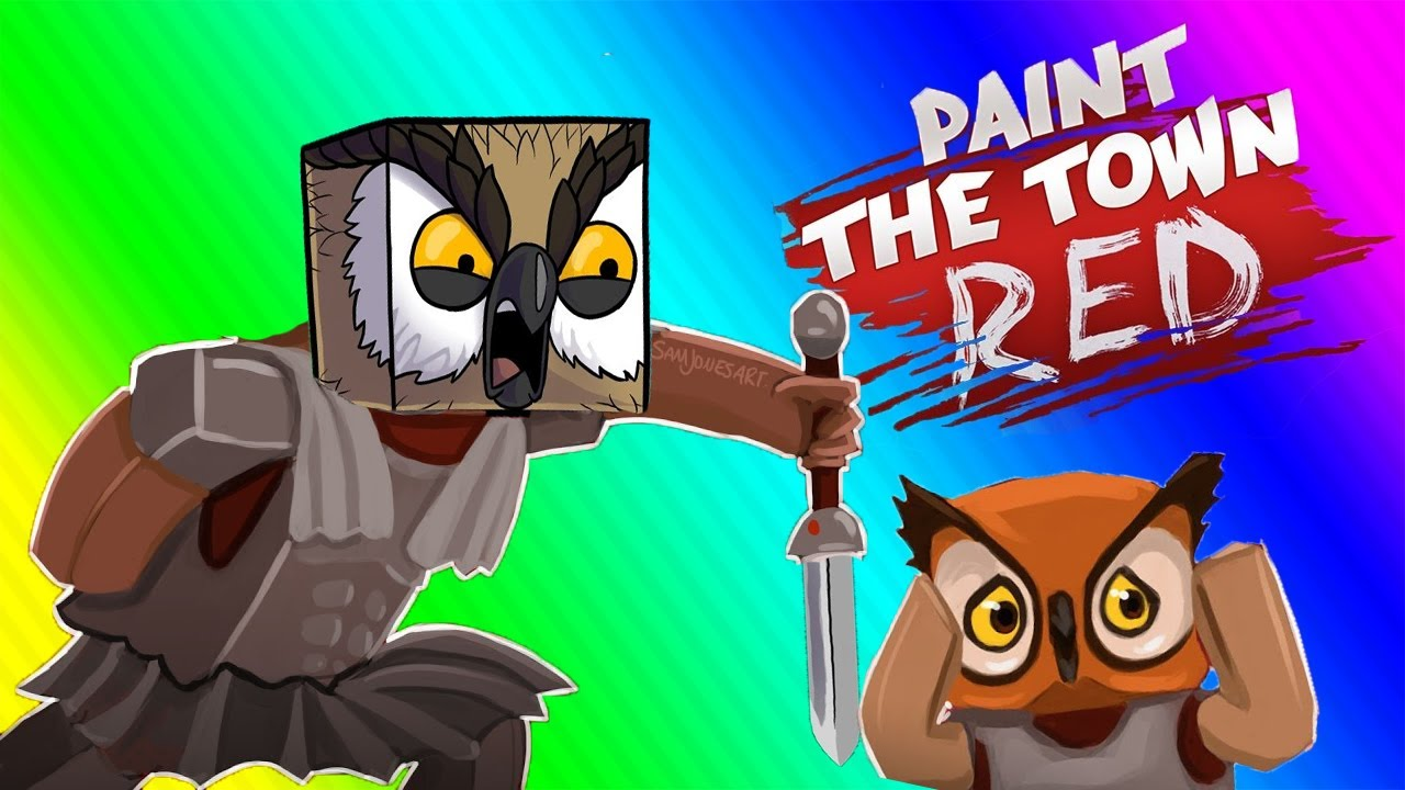 VanossGaming Paint the Town Red Funny Moments   Pirate Gladiator!