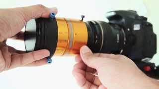 Isco Ultra Star Cinemascope Anamorphic Lens Vid Atlantic Clamp