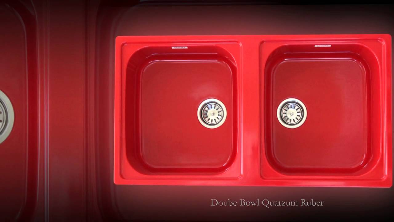 ZINZER Double Bowl Kitchen Sinks - YouTube on bright colored cast iron sink, red double windows, red chest of drawers, cast iron undermount double sink, red ceramic kitchen sinks, red porcelain sink, red toilet, red undermount kitchen sink, red double doors, red double fridge, top mount farm sink, red deep kitchen sink, red cast iron kitchen sinks, red bowl sink, butterfly-shaped honey onyx sink, red kitchen sink hair products, red bathroom, red apron sink,
