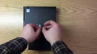 lenovo M700 Tiny Unboxing / Assembly