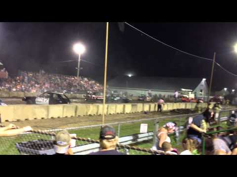 2013 eire county fair compact demolition derby