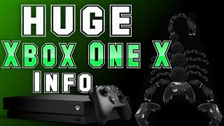 HUGE Xbox One X Info Released By Microsoft! Nobody Thought This Would Be Announced!
