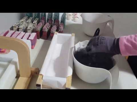 Handmade Cold  Process Soap Making & Cutting of A++ Team