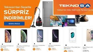 TEKNOSA SÜPRİZ İNDİRİMLER / TEKNOSA CEP TELEFONU FİYATLARI / TEKNOSA OUTLET FIRSATLARI