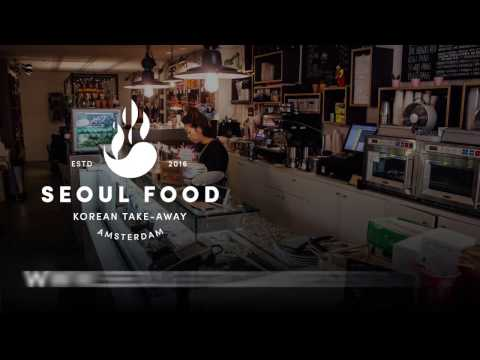 Motion Graphics Seoul Foods Amsterdam