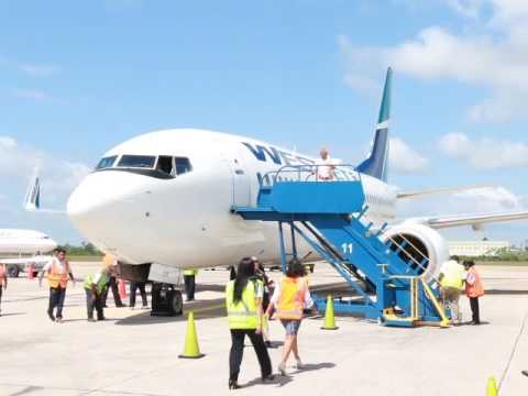WestJet Touches Down in Belize