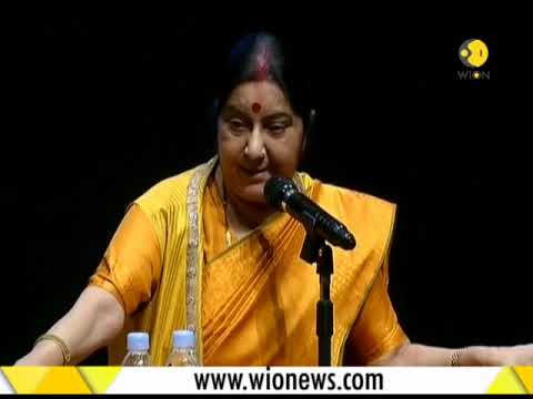 Sushma Swaraj: India's foreign policy is not dictated by foreign powers