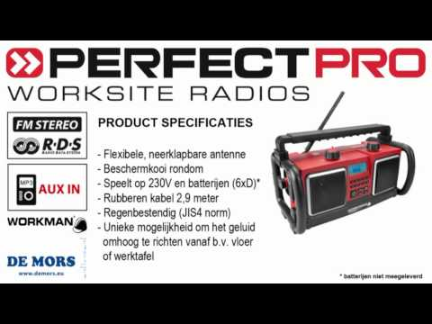 PerfectPro Workman bouwradio