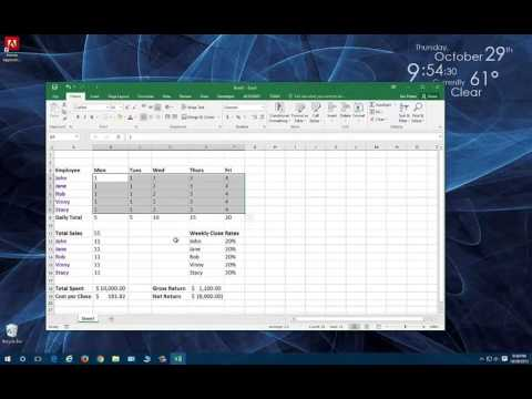 how to make excel thoushands in k