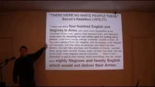 """The Invention Of The White Race"" by Theodore W. Allen. Presentation by Jeffrey B. Perry"