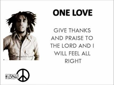 Bob Marley - One Love [Lyrics]
