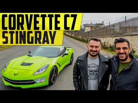 Corvette C7 Stingray | 100 KM'de 30 Litre Yaktık