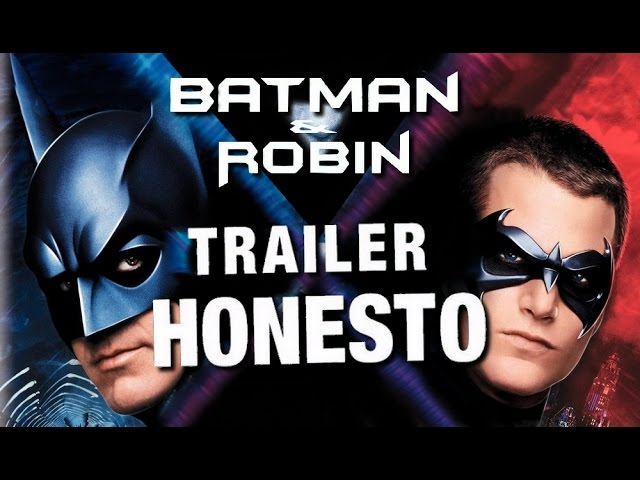Trailer Honesto - Batman e Robin - Legendado