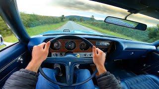 1970 Pontiac GTO 6.6 400 V8 Auto - POV Test Drive & Walkaround | Numbers Matching GTO