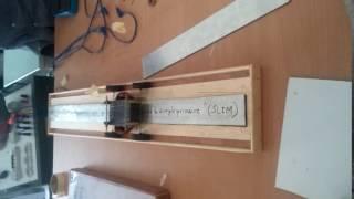 moteur à induction linéaire à simple primaire  polytech constantine