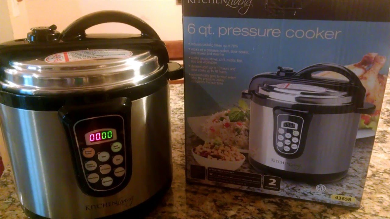 Kitchen Living 6 Qt Pressure Cooker Review - YouTube