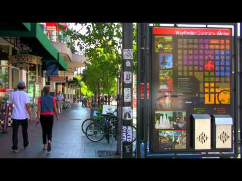 A Look at Downtown Boise, Idaho