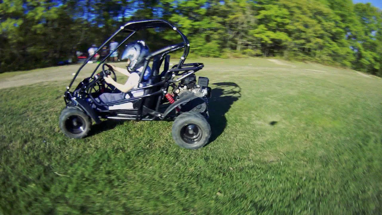 GoKart Quadcopter FPV Chase Video фото