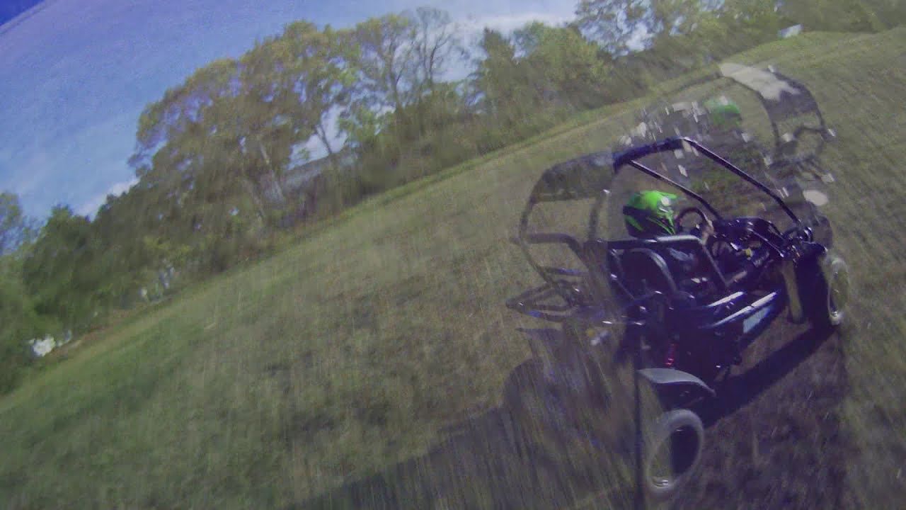 GoKart Quadcopter FPV Chase Video фотки