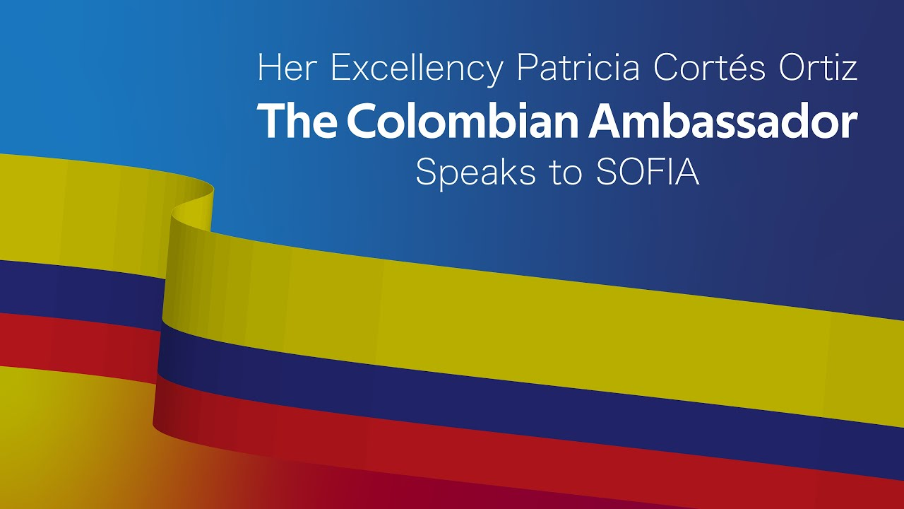 SOFIA Hosts The Colombian Ambassador • Highlights