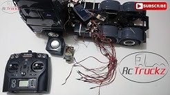 Assembly/Wiring of RC Tractor Truck Lighting & Sound/MFU for Tamiya/Hercules Hobby - G T Power