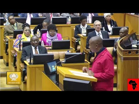 Julius Malema vs Ramaphosa 'Stop Dreaming And Wake Up'
