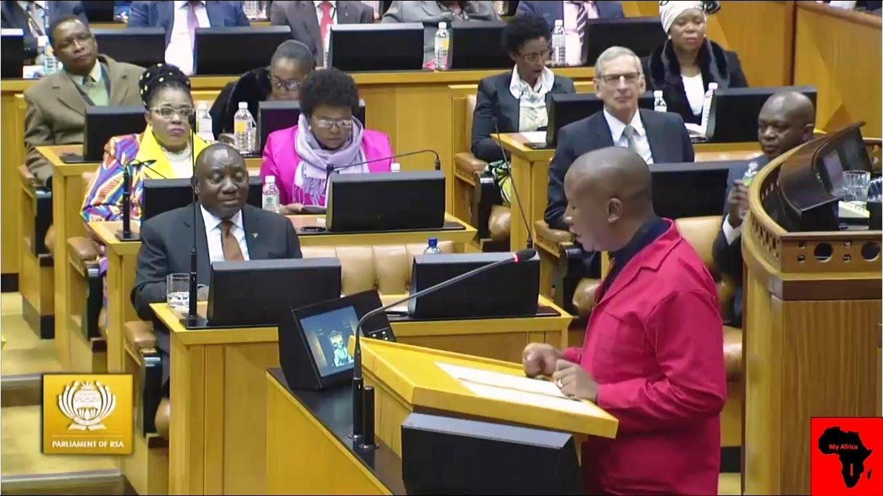 "Julius Malema vs Ramaphosa ""Stop Dreaming And Wake Up"""