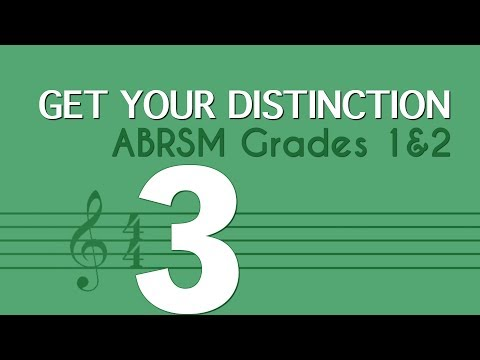 Learn music theory 3 - note values - ABRSM Grades 1 and 2