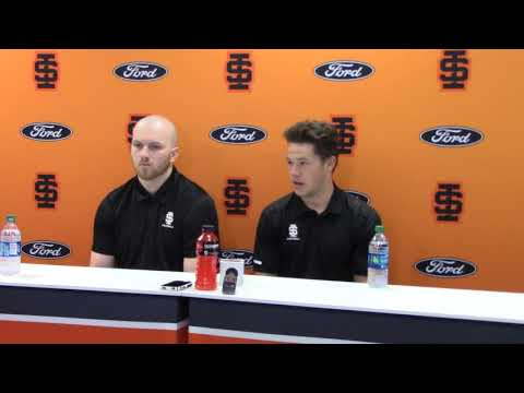 Mitch Gueller and Michael Dean Media Day 2019