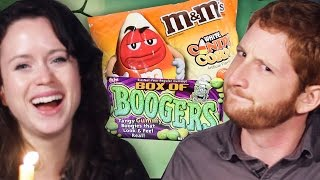 The Scariest Halloween Candy Taste Test