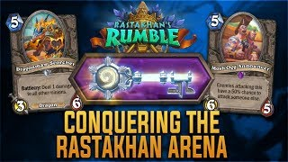 Conquering The Rastakhan Arena | Key Cards & Changes | Hearthstone | [Rastakhan
