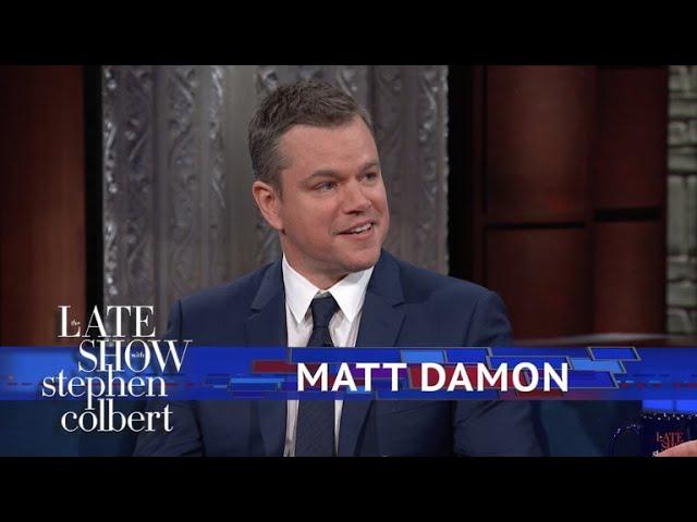 Matt Damon Explains Why Good Will Hunting Has So Much Cursing