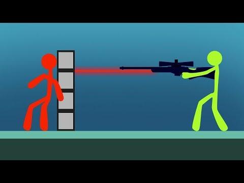 INTENSE STICK FIGHT SNIPER BATTLE! (Stick Fight)